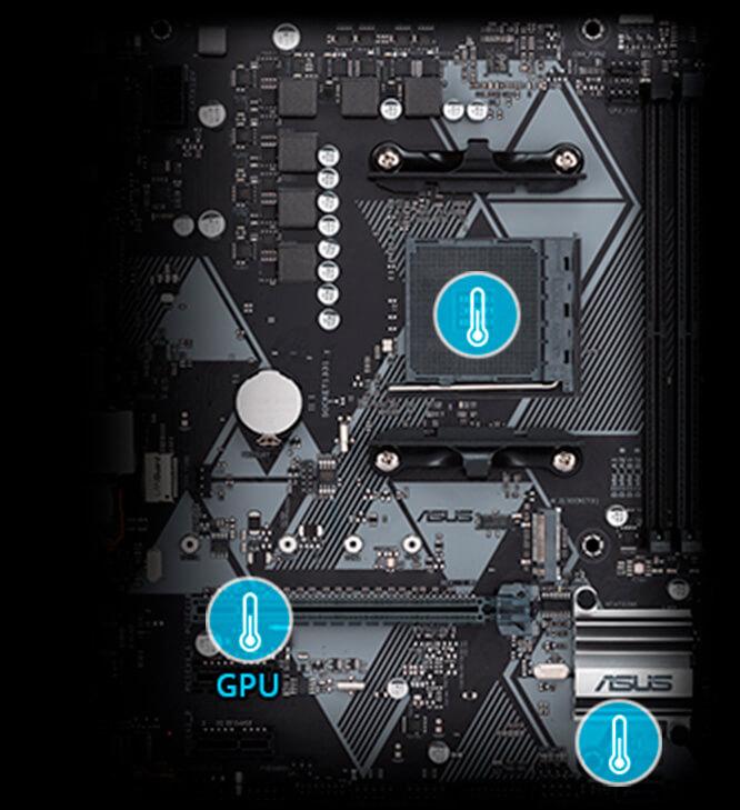 Placa Mae Asus Prime B450M-K DDR4 Socket AM4 Chipset AMD B450